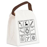 Pysanka Symbols Canvas Lunch Bag