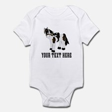 Customizable Pony Print Body Suit