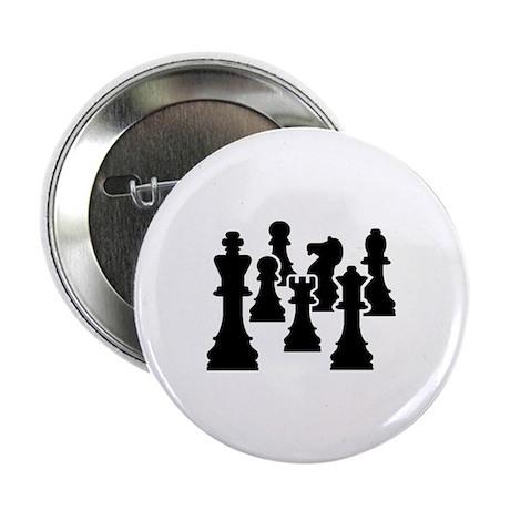 "Chess Chessmen 2.25"" Button (10 pack)"