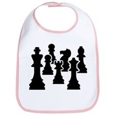 Chess Chessmen Bib