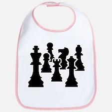 Chess Chessmen Bib