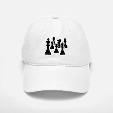 Chess Chessmen Baseball Baseball Cap