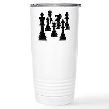 Chess Chessmen Travel Mug