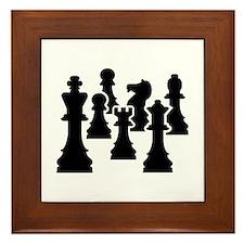 Chess Chessmen Framed Tile
