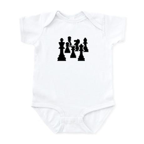 Chess Chessmen Infant Bodysuit
