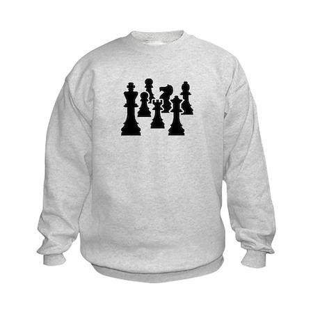 Chess Chessmen Kids Sweatshirt