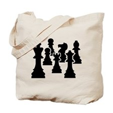 Chess Chessmen Tote Bag