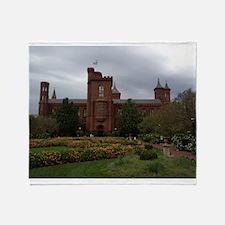 Smithsonian Castle Throw Blanket
