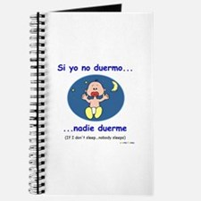 If I Don't Sleep... (Spanish) Journal