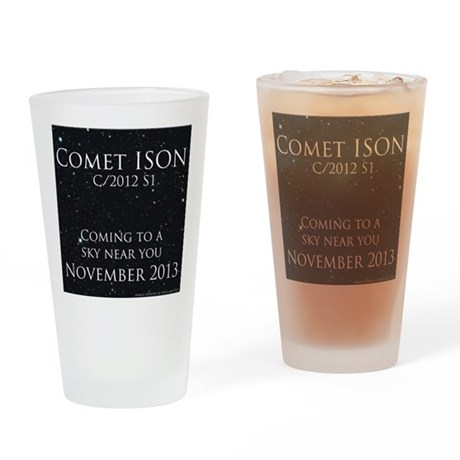 Comet ISON Drinking Glass