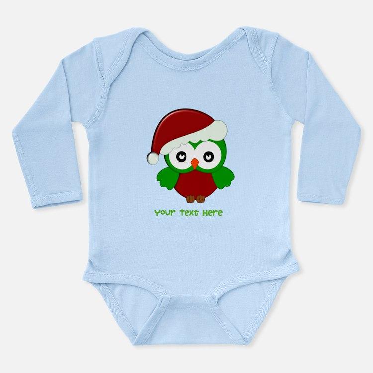 Cute Seasonal holidays Long Sleeve Infant Bodysuit