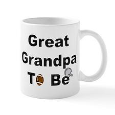 Football Great Grandpa To Be Mug