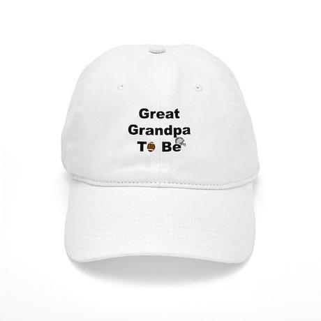 Football Great Grandpa To Be Cap
