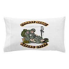 Combat Medic - Saving Lives Pillow Case