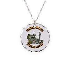 Combat Medic - Saving Lives Necklace Circle Charm