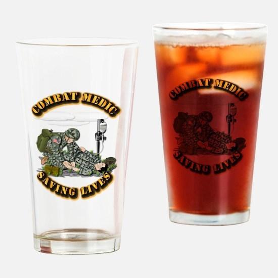 Combat Medic - Saving Lives Drinking Glass
