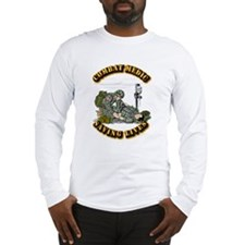 Combat Medic - Saving Lives Long Sleeve T-Shirt