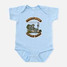 Combat Medic - Saving Lives Infant Bodysuit