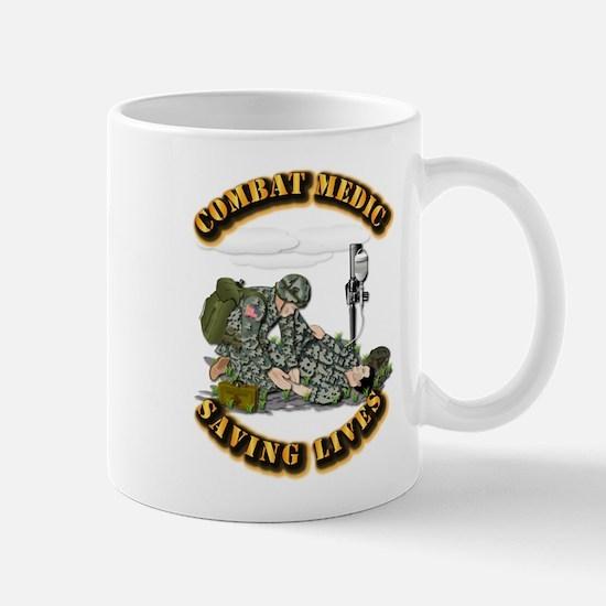 Combat Medic - Saving Lives Mug