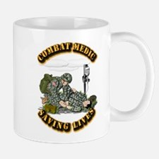 Combat Medic - Saving Lives Small Small Mug