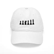 Evolution chess Baseball Cap