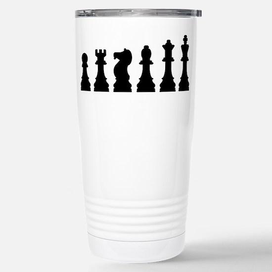 Evolution chess Stainless Steel Travel Mug