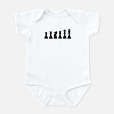 Evolution chess Infant Bodysuit