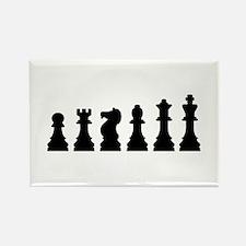 Evolution chess Rectangle Magnet