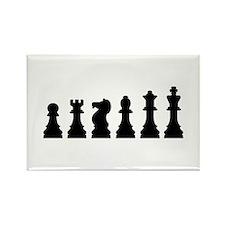 Evolution chess Rectangle Magnet (100 pack)