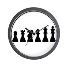 Evolution chess Wall Clock