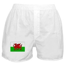 Wales Flag Picture Boxer Shorts