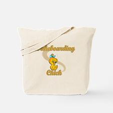 Waterboarding Chick #2 Tote Bag
