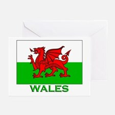 Wales Flag Stuff Greeting Cards (Pk of 10)