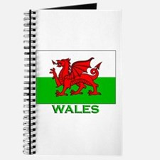 Wales Flag Stuff Journal