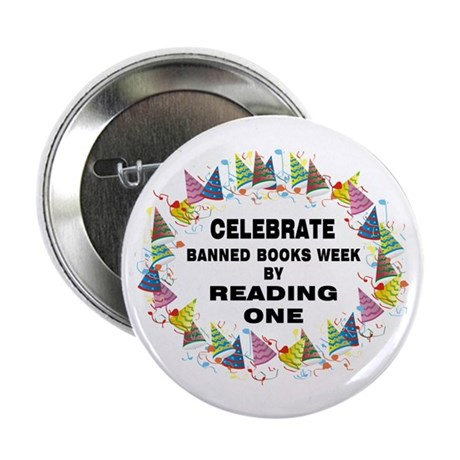"""Banned Books Week 2.25"""" Button (100 pack)"""
