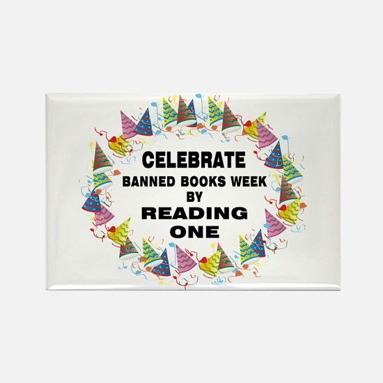 Banned Books Week Rectangle Magnet