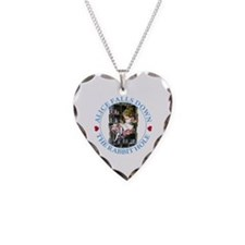 Alice Falls Down The Rabbit Hole Necklace