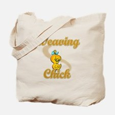 Weaving Chick #2 Tote Bag