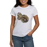 Gold Norse Dragon Women's T-Shirt
