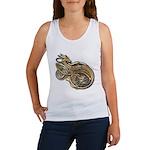 Gold Norse Dragon Women's Tank Top