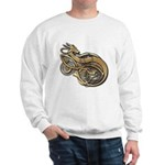 Gold Norse Dragon Sweatshirt