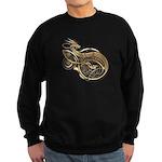 Gold Norse Dragon Sweatshirt (dark)