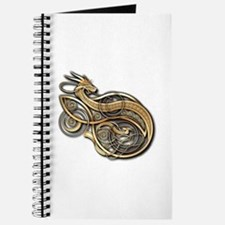 Gold Norse Dragon Journal