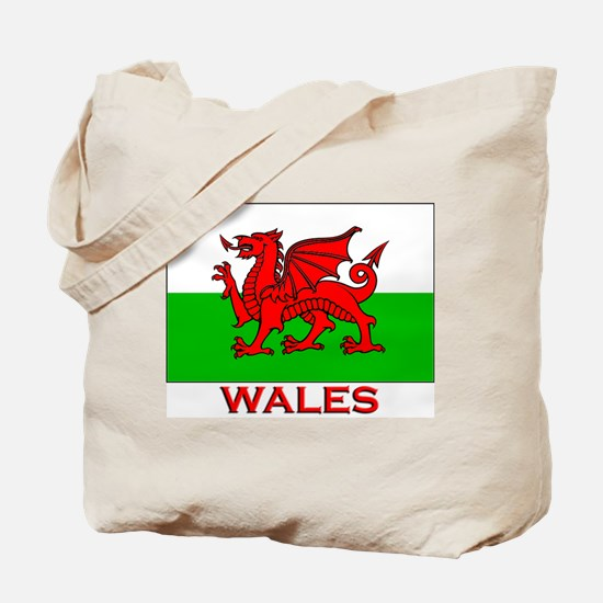Wales Flag Gear Tote Bag