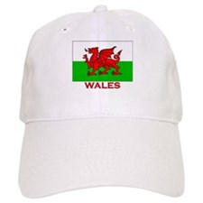 Wales Flag Gear Baseball Cap