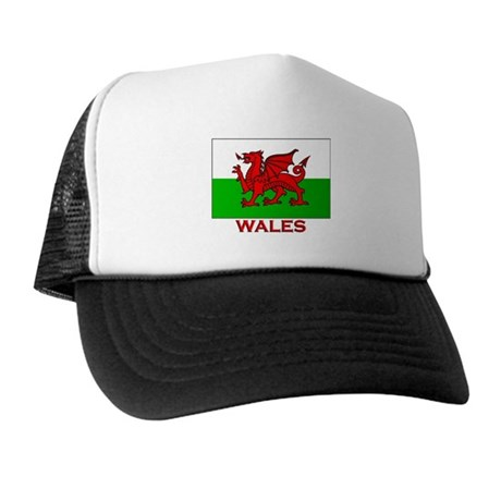 Wales Flag Gear Trucker Hat
