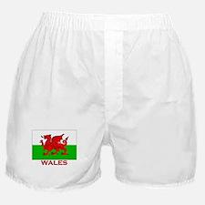 Wales Flag Gear Boxer Shorts
