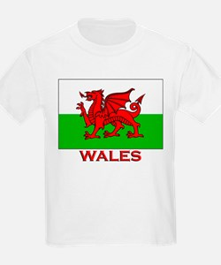 Wales Flag Gear Kids T-Shirt
