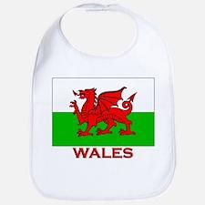 Wales Flag Gear Bib