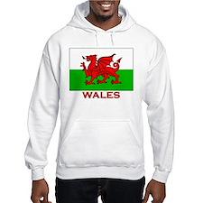 Wales Flag Gear Jumper Hoody